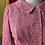 Thumbnail: 60s bubble gum lace 2 pc dress suit // sz 4