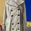 Thumbnail: 70s shimmery chartreuse trench // sz 8/10