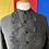 Thumbnail: 1910s black beaded jacket // sz 6