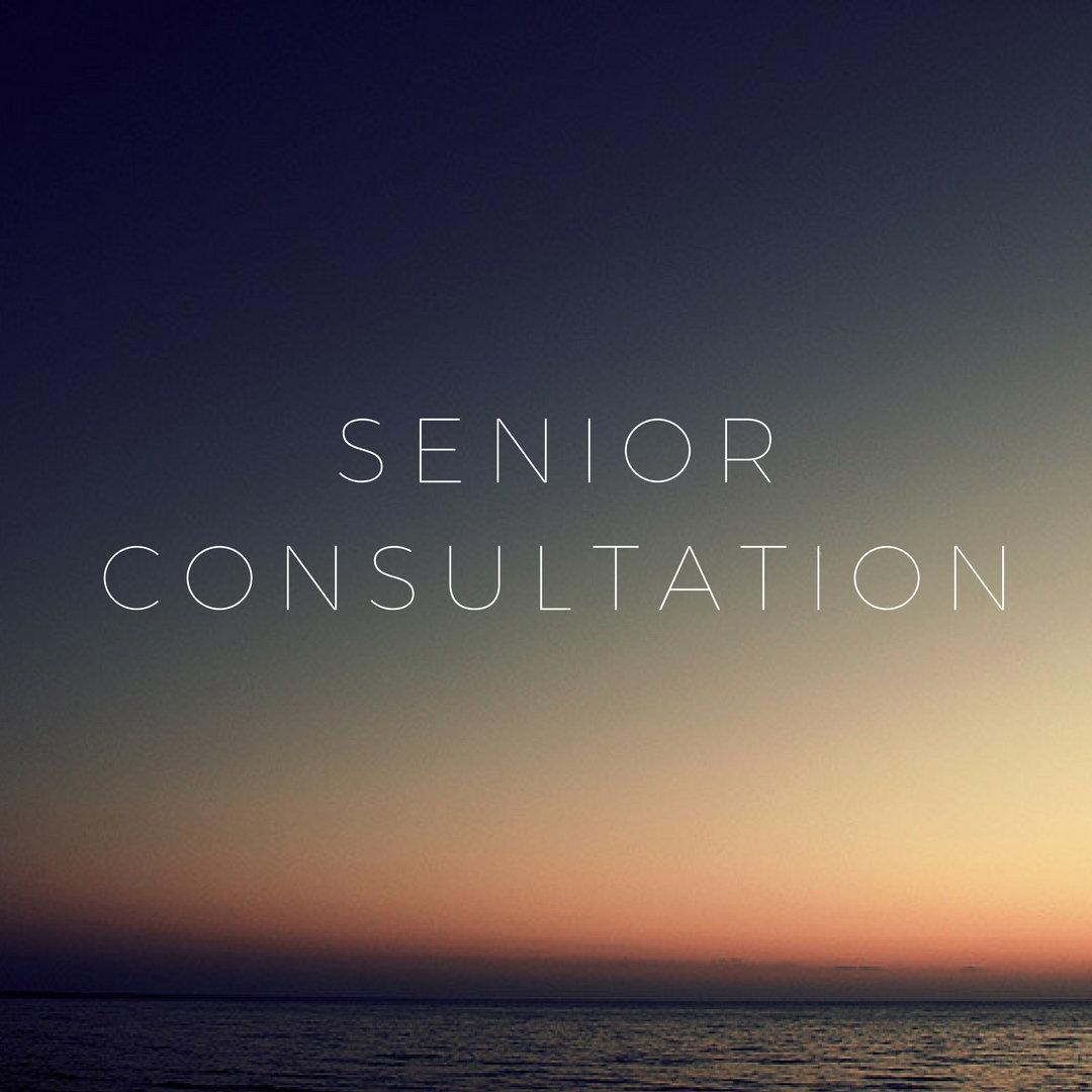 Senior Consultation