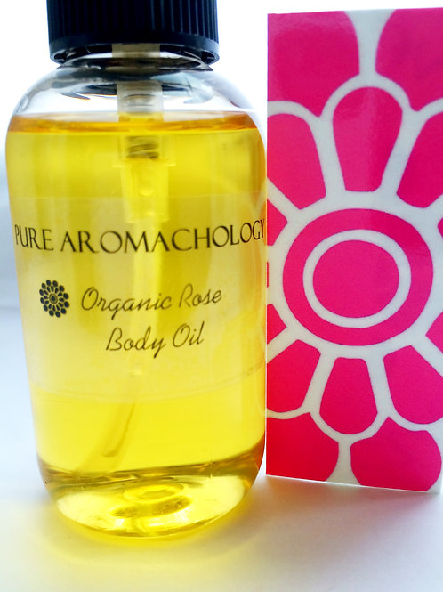 Clia...with Love Organic Damask Rose Body Oil