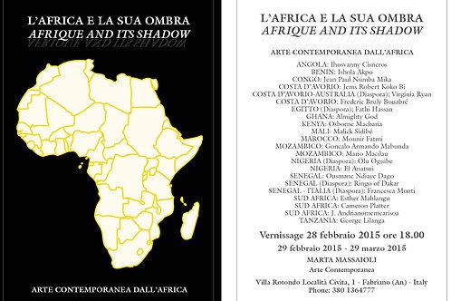 Cartoline mostra L'Africa e la sua Ombra