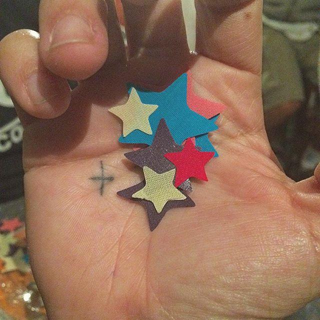 Estrelas juntas formam o céu