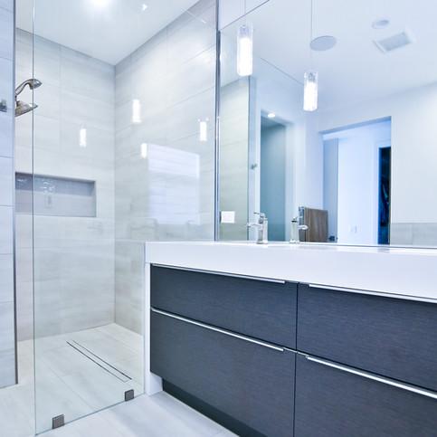 Flushed Shower I