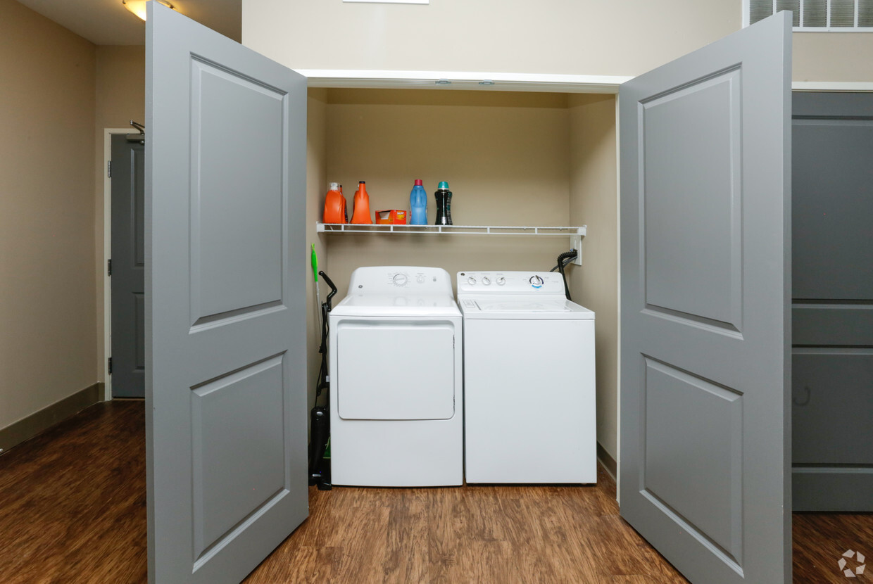 Washer & Dryer in each unit