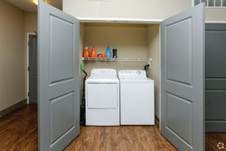 Washer & Dryer in each unit