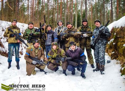 Командный бой: сборная Жуковки - сборная Почепа