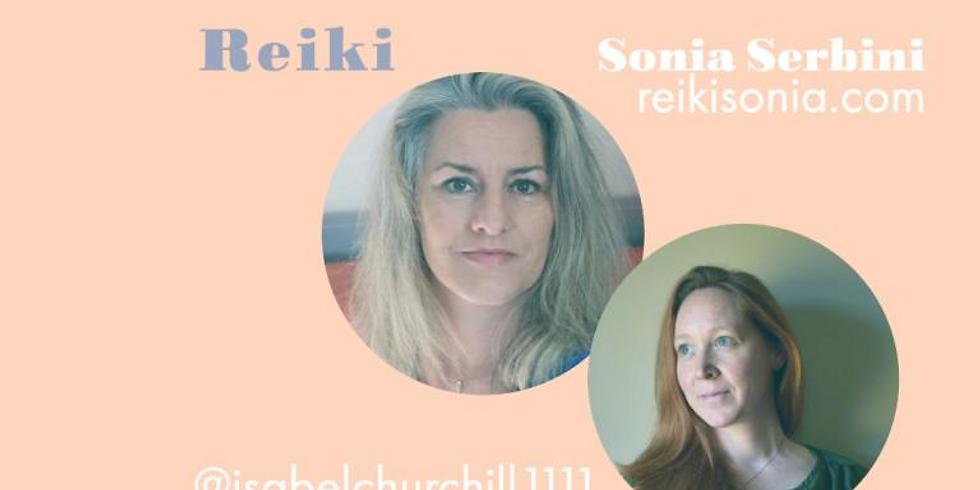 """Isabel S. Churchill et École de guérison énergétique lance une nouvelle série intitulée """"Parlons Reiki""""."""