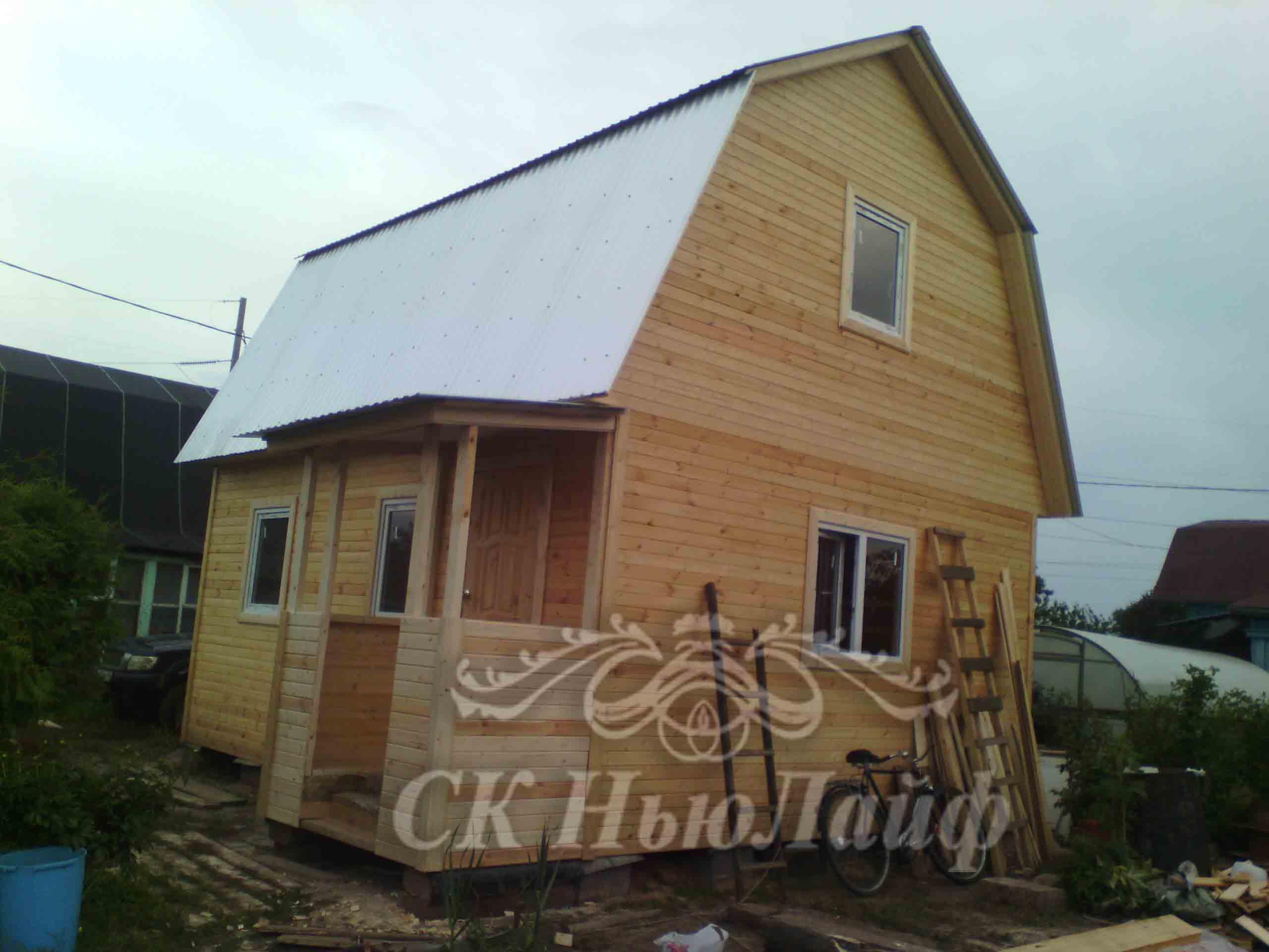 Каркасный дачный дом в Казани