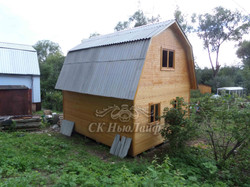 Щитовые дома в Казани