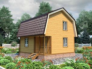 Дачный дом под ключ Альметьвск