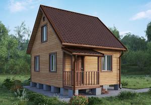 Проект дачного дома Казань