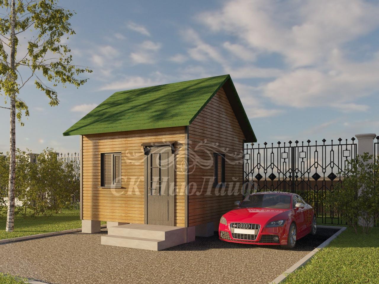 Строительство дачи в Казани