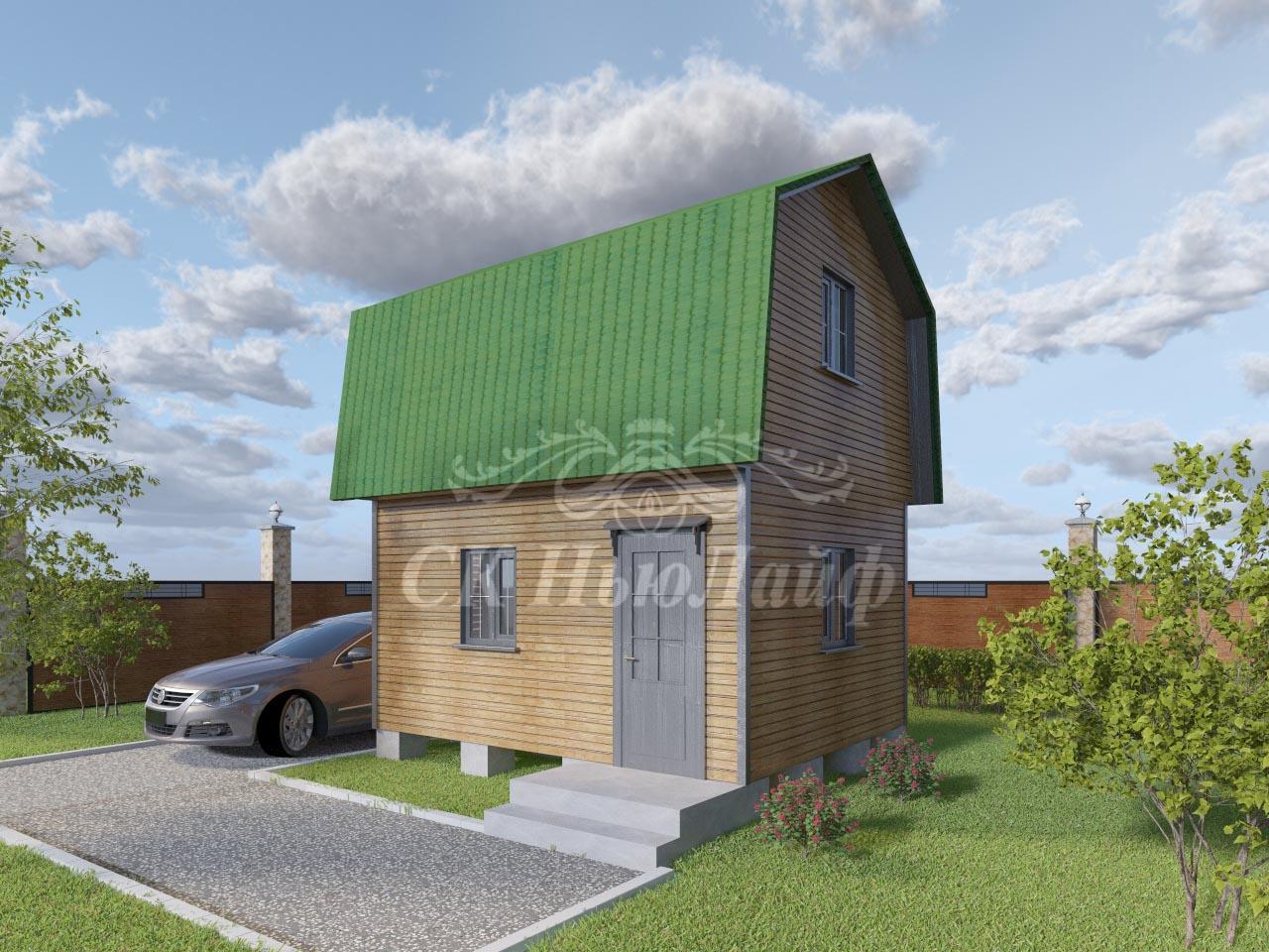 Дачные дома и бани в Казани