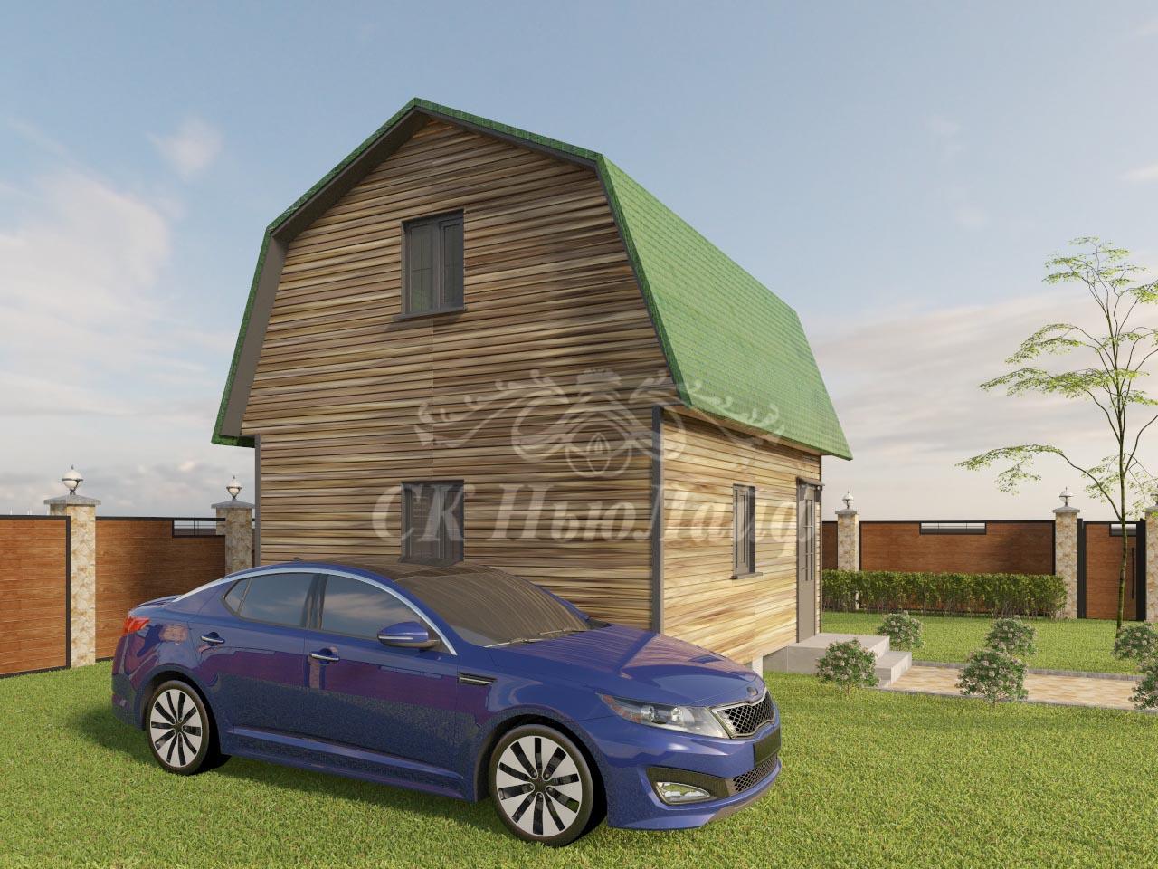 Дачный дом в Казани под ключ