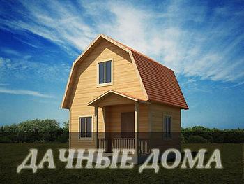 Каркасные дачные дома в Казани