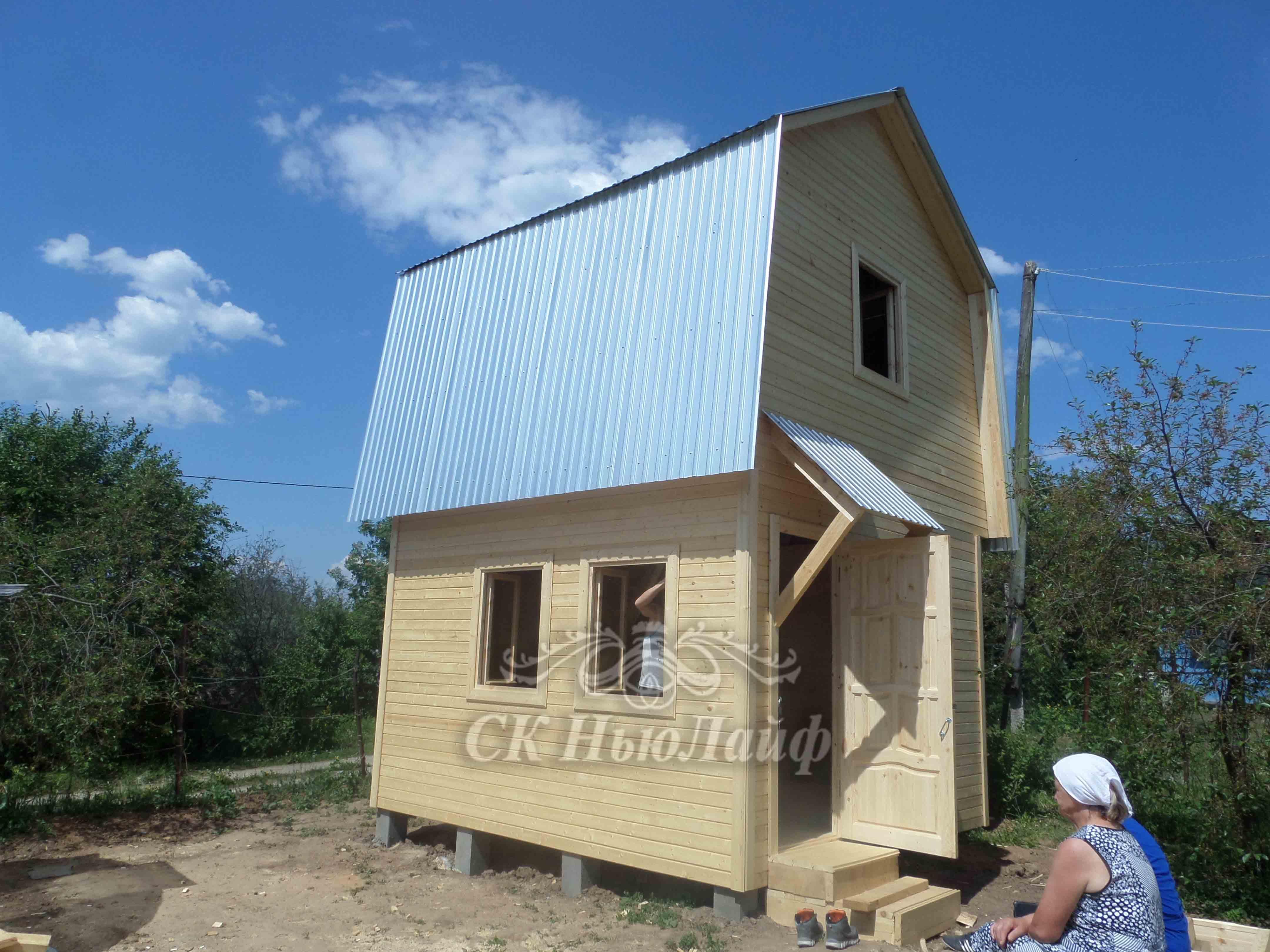 Построить дачный дом в Казани