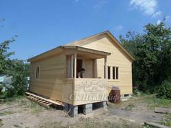 Дачный дом под ключ в Казани