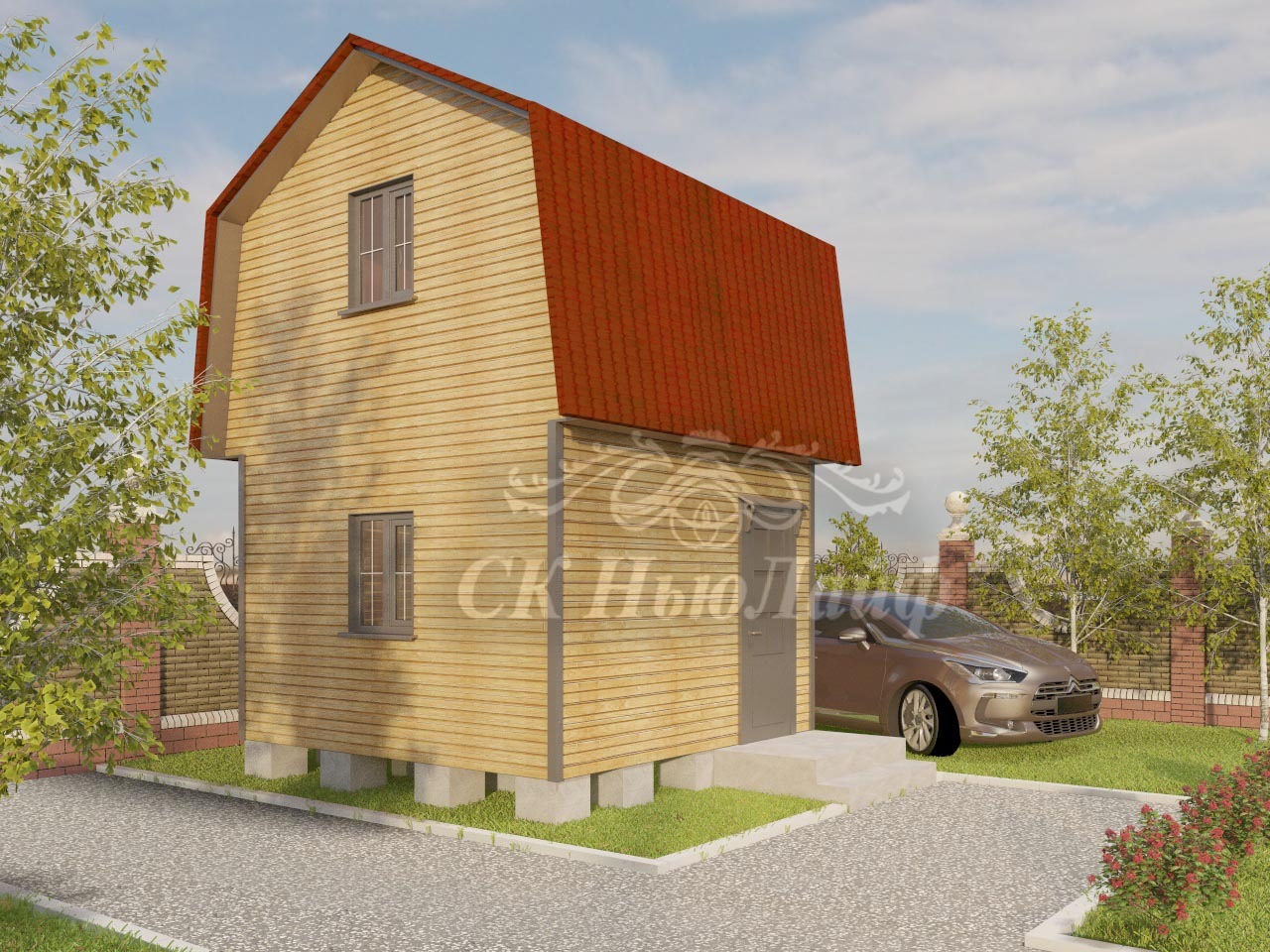 Дачные дома под ключ в Казани