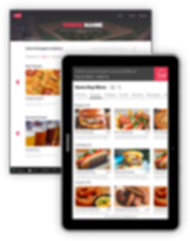 in-suite ordering tablet and online