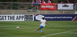 Soccer field sponsorship