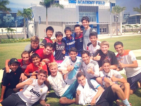 2014 IMG Summer Camp in Florida