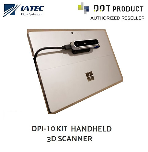 Laser Scanner 3D digitalizador de Mão DOTPRODUCT DPI-10 KIT
