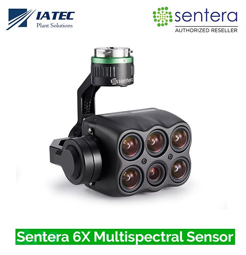 Camera Sentera 6X Multiespectral 5-Bandas 20MP RGB