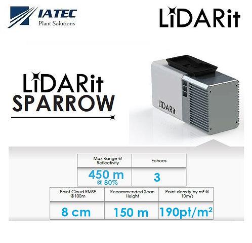 Sensor Lidar Drones UAV Matrice 210 300 600 - LIDARit Sparrow