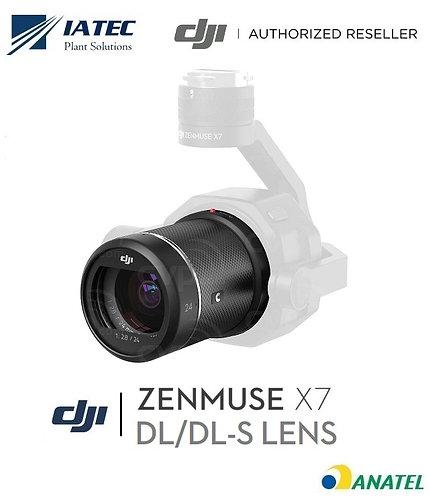 Lente Câmera Zenmuse X7 (16mm, 24mm, 35mm ou 50mm)