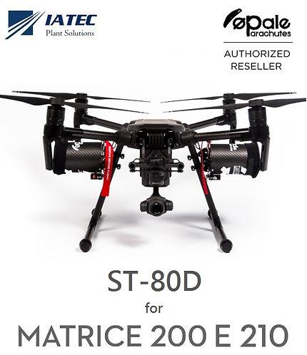 KIT PARAQUEDAS DRONE MATRICE 200 210 ST80D OPALE SAFETECH