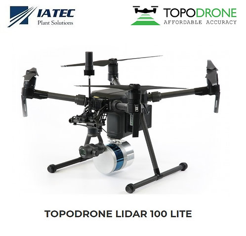 Sensor Lidar Drones UAV Matrice 210 300 600 - TOPODRONE 100 Lite