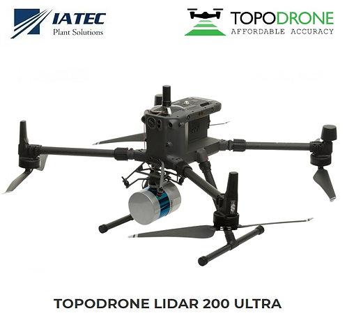 Sensor Lidar Drones UAV Matrice 210 300 600 - TOPODRONE 200 Ultra