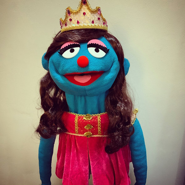 Pubbet 15: Princess Karen Puppet with Dress & Tiara