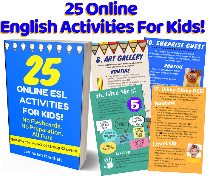 25 Online ESL Activities For Kids