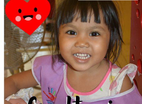 Meet Gradtaai, our first sponsored child through Hand to Hand Foundation