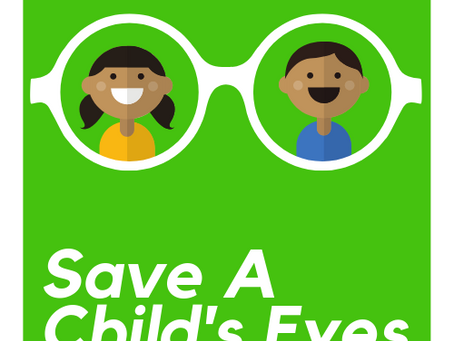 'Save A Child's Eyes' Charity Appeal