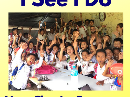 Our monthly charity contribution for May-June: The I See I Do Program, Cambodia
