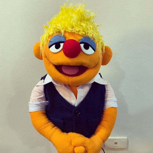 Pubbet 29: Alan Puppet with Long Sleeve Shirt and Vest!