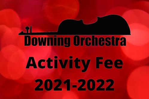 2021-2022 Orchestra Activity Fee