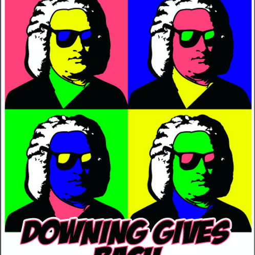 Downing Gives Bach T-Shirt