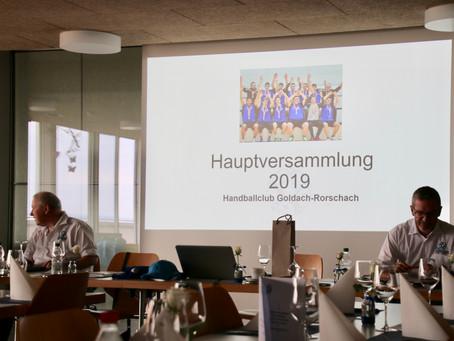 9. Hauptversammlung des Handballclubs Goldach-Rorschach