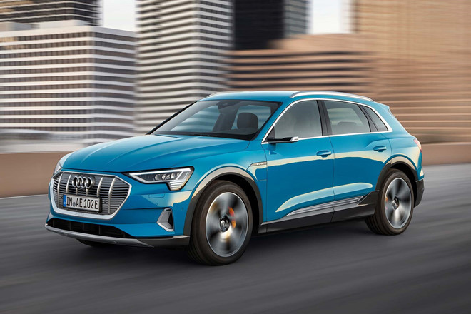 Audi E-tron  Top 8 Paris Motor Show