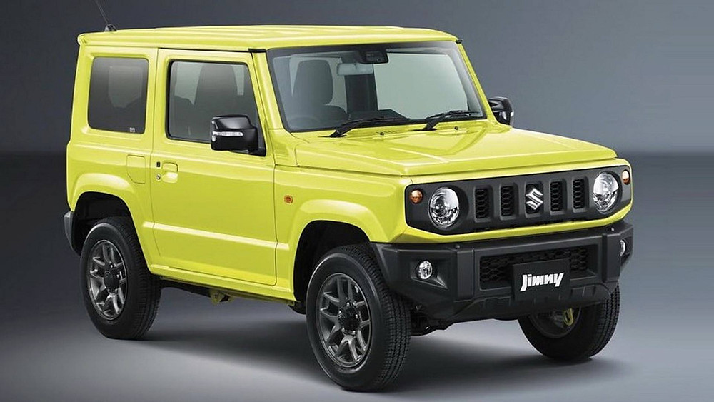 Suzuki Jimny  Top 8 Paris Motor Show