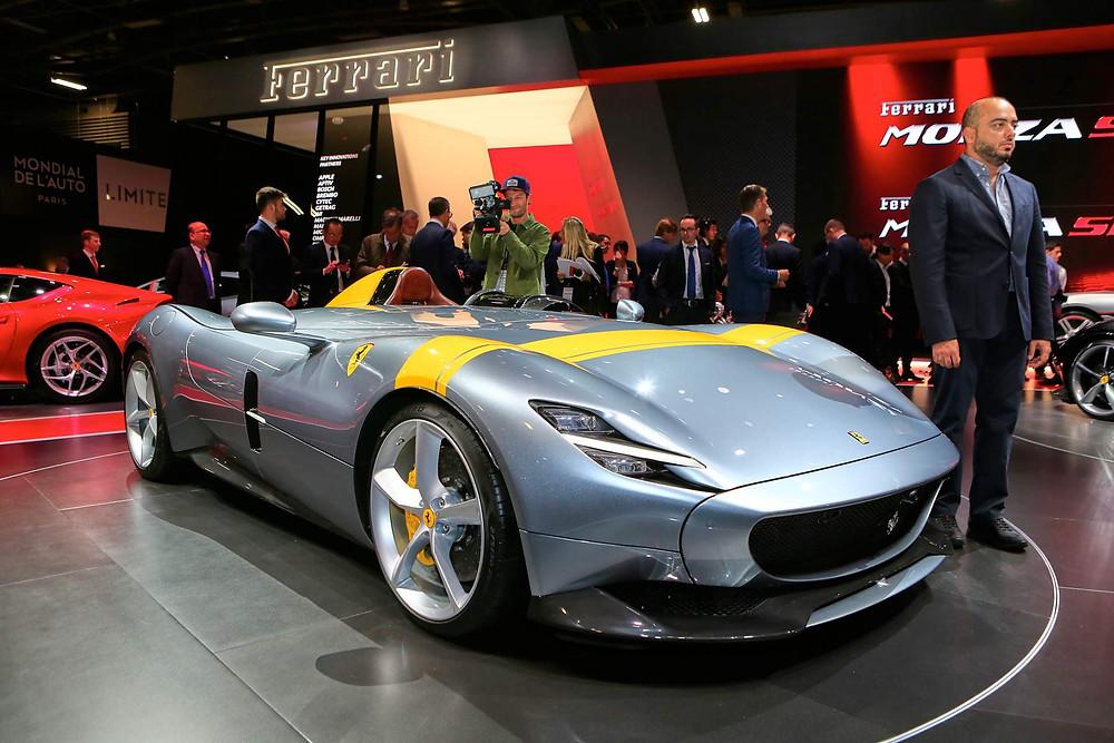 Ferrari Monza SP1 Top 8 Paris Motor Show