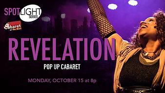 Revelation The Musical pop up cabaret