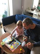 """Рисование гуашью на видеоуроке для детей в Монтессори-студии """"Апрель"""""""