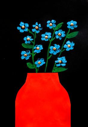 """Пальчиковое рисование и аппликация на видеоуроке для детей в Монтессори-студии """"Апрель"""""""