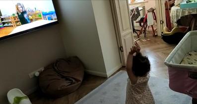 Зарядка на видеоуроке для детей