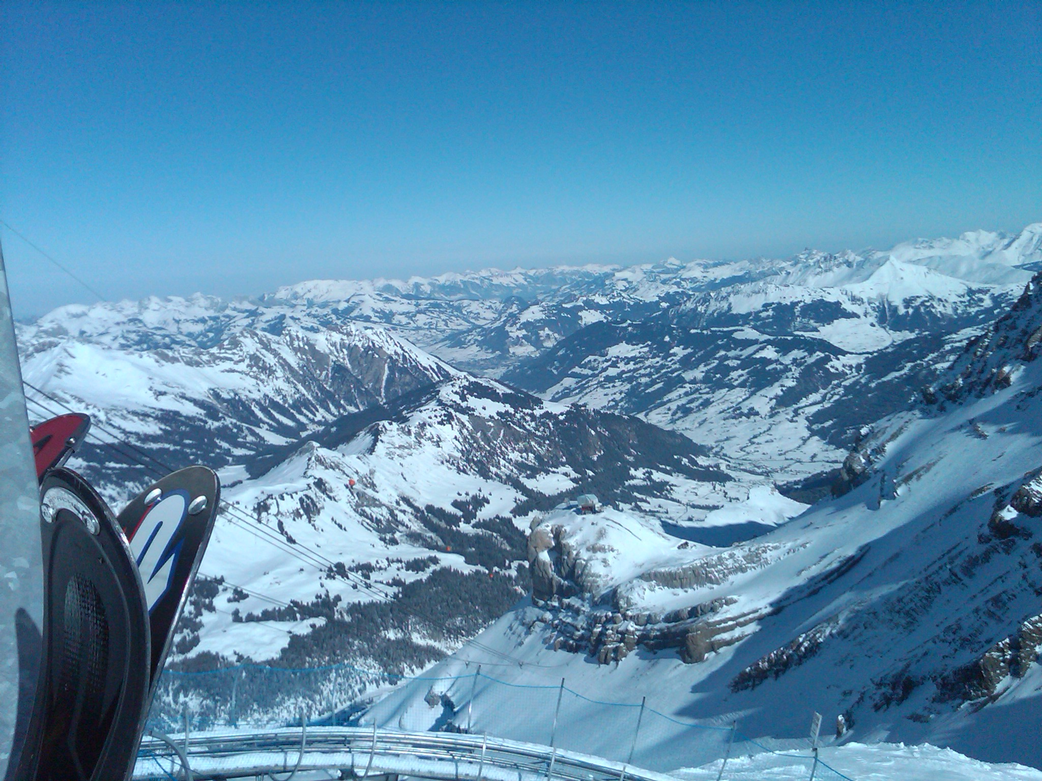 View from Glacier 3000